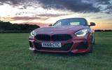 BMW Z4 long-term review - grass