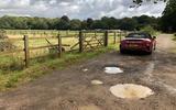 BMW Z4 long-term review - potholes