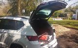 Cupra Ateca boot loaded