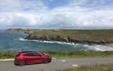 Ford Focus long-term review - Cornwall beach rear