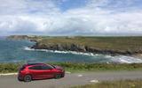 Ford Focus long-term review - Cornwall beach rear