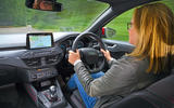 Ford Focus long-term review - Sarah Ozgul driving