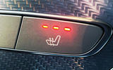 Mercedes E300de 2019 long-term review - heated seats button