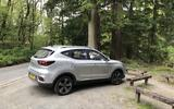 MG ZS 2019 long-term review - parked at a rest stop