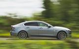 Jaguar XE 2020 facelift - side