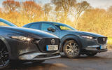 Mazda 3 2019 long term review - 3 meets CX-30 - nose