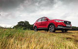 MG ZS EV 2020 long-term review - red MG static