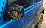 Suzuki Jimny 2019 long-term review - muddy wing mirrors
