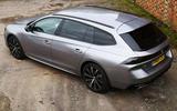 Peugeot 508 SW long-term review - rear
