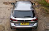 Peugeot 508 SW long-term review - rear end