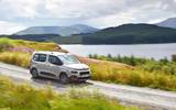 Berlingo in Scotland - driving