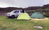 Berlingo in Scotland - tent