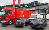 Mercedes E300de 2019 long-term review - Spa Classic Pit crew