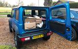 Suzuki Jimny 2019 long-term review - boot filled
