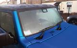 Suzuki Jimny 2019 long-term review - frosted windscreen