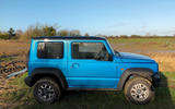 Suzuki Jimny 2019 long-term review - muddy field