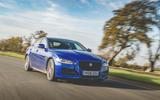 Jaguar XE 2019 long-term review - hero front