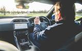 Jaguar XE 2019 long-term review - Steve Cropley driving