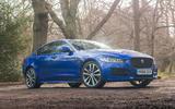 Jaguar XE 2019 long-term review - static