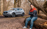 MG ZS 2019 long-term review - Olgun Kordal in the woods