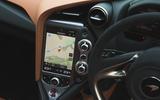 McLaren 720S 2019 long-term review - infotainment