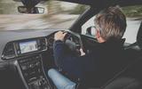Cupra Ateca 2019 long-term review - Richard Bremner driving