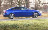 Jaguar XE 2019 long-term review - hero side