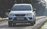 Cupra Ateca 2019 long-term review - on the road nose