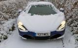 McLaren 720S 2019 long-term review - snow