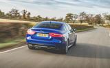 Jaguar XE 2019 long-term review - hero rear