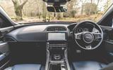 Jaguar XE 2019 long-term review - cabin