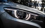 MG ZS 2019 long-term review - headlights