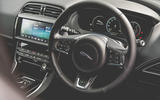 Jaguar XE 2019 long-term review - steering wheel
