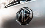 MG ZS 2019 long-term review - rear badge
