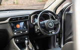 MG ZS 2019 long-term review - dashboard