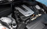 Infiniti EX's Nissan 370Z engine