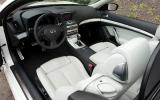 Infiniti G Series covertible interior