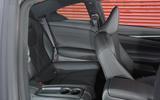 Infiniti Q60 rear seats