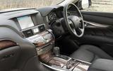Infiniti Q70 interior