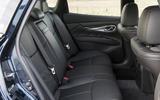 Infiniti Q70 rear seats