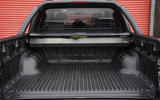 Isuzu D-Max rear loading bay