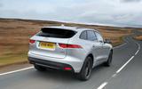 Jaguar F-Pace  2016 road test review rear