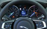 Jaguar F-Pace instrument cluster
