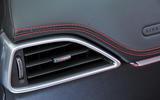 Jaguar F-Pace air vents