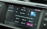 Jaguar F-Pace DAB infotainment