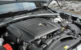 2.0-litre Jaguar F-Pace diesel engine