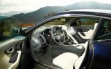 Jaguar F-type coupé S interior
