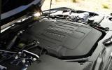 3.0-litre Jaguar F-type coupé S engine