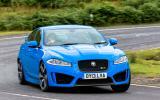 Jaguar XFR-S cornering
