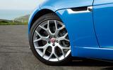 19in Jaguar F-Type 2.0 alloy wheels